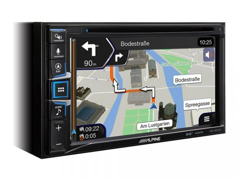 INE-W611DC_built-in-Navigation-Maps