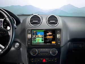 Alpine Style | Navigation System for Mercedes ML (W164) and GL (X164) - X800D-ML
