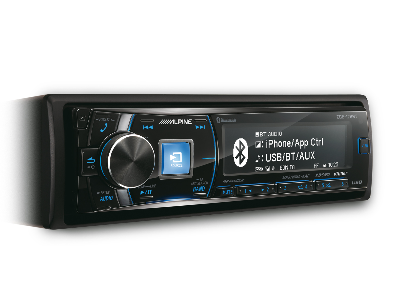 cd receiver with bluetooth alpine cde 178bt rh alpine electronics se Alpine Receivers BT Alpine Car Radio Manual
