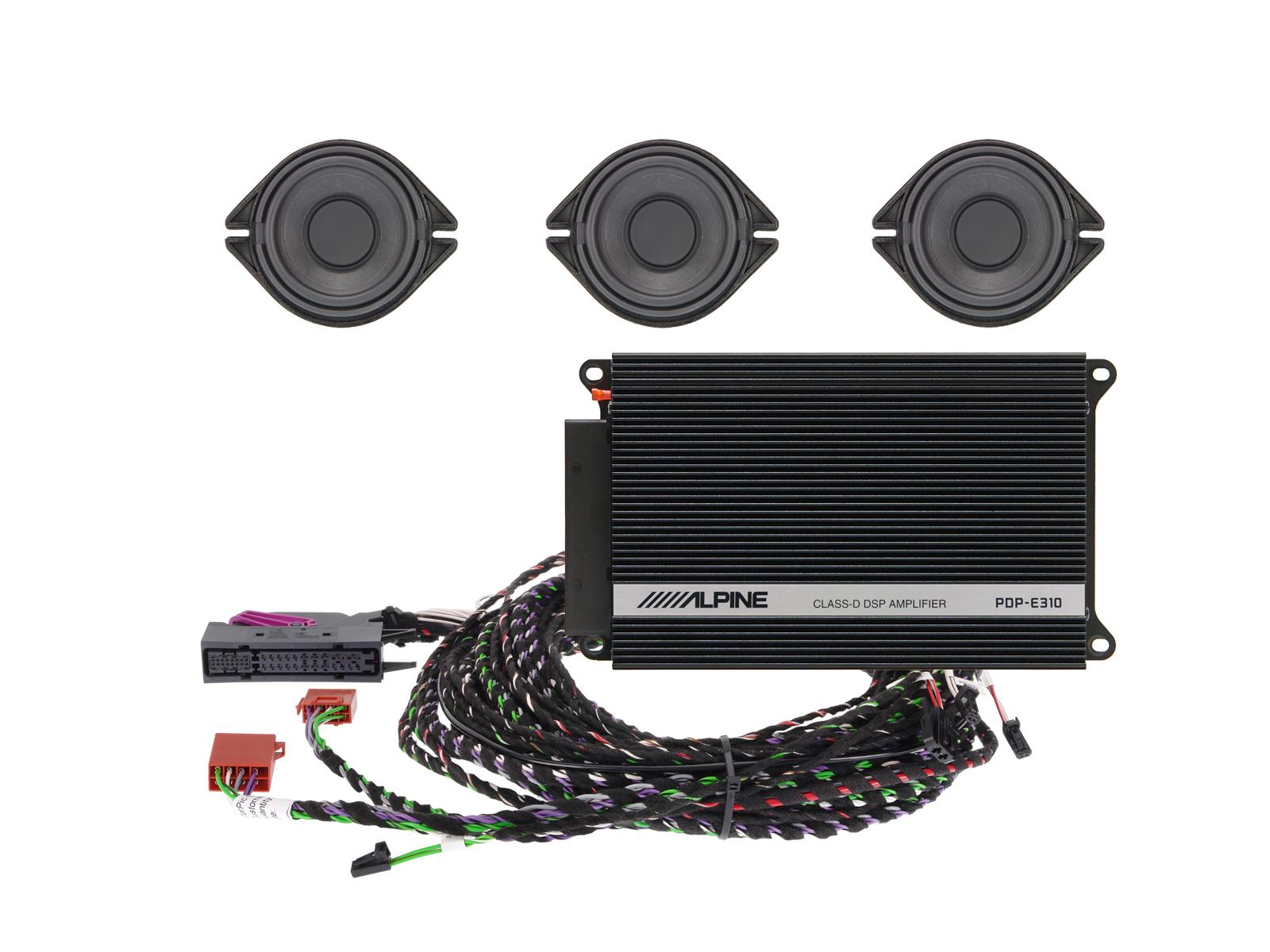 Premium Sound Upgrade For Audi A4 A5 And Q5 Alpine