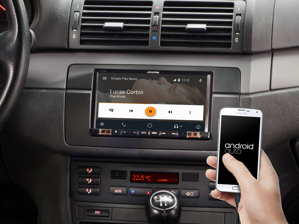 7 Mobile Media System For Bmw 3 Series E46 Featuring Apple Carplay