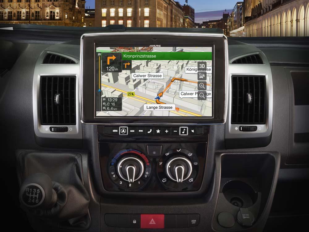 navigation system for fiat ducato 3 citro n jumper 2 and peugeot rh alpine electronics se Audi Navigation Maps Audi MMI Navigation Review