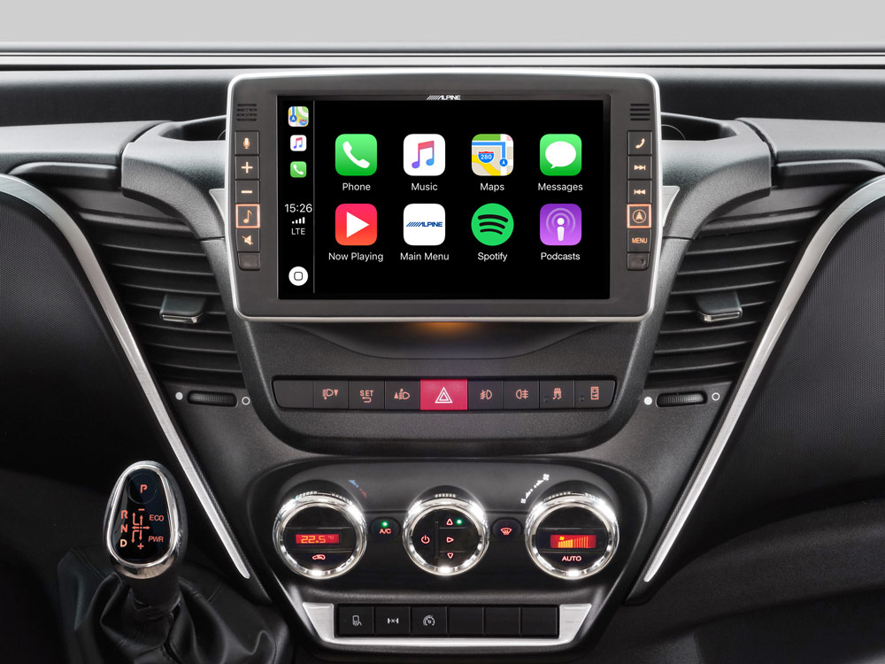 """9"""" Touch Screen Navigation for Iveco Daily, compatible with Apple"""