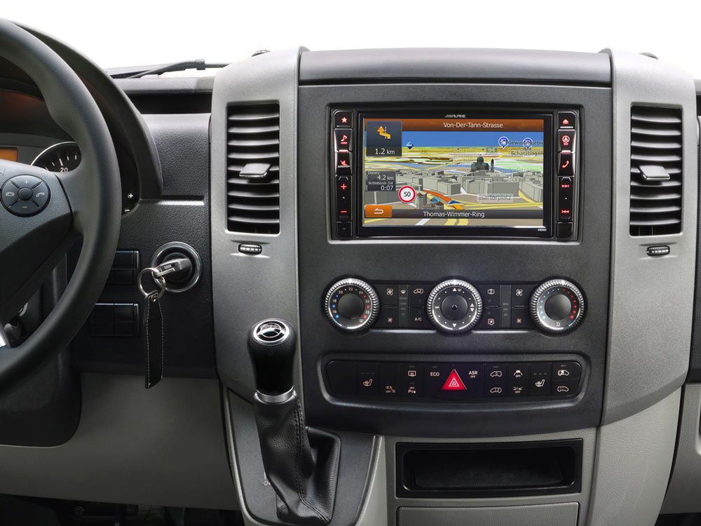 Advanced Navi Station, Alpine Style Product for Mercedes Sprinter