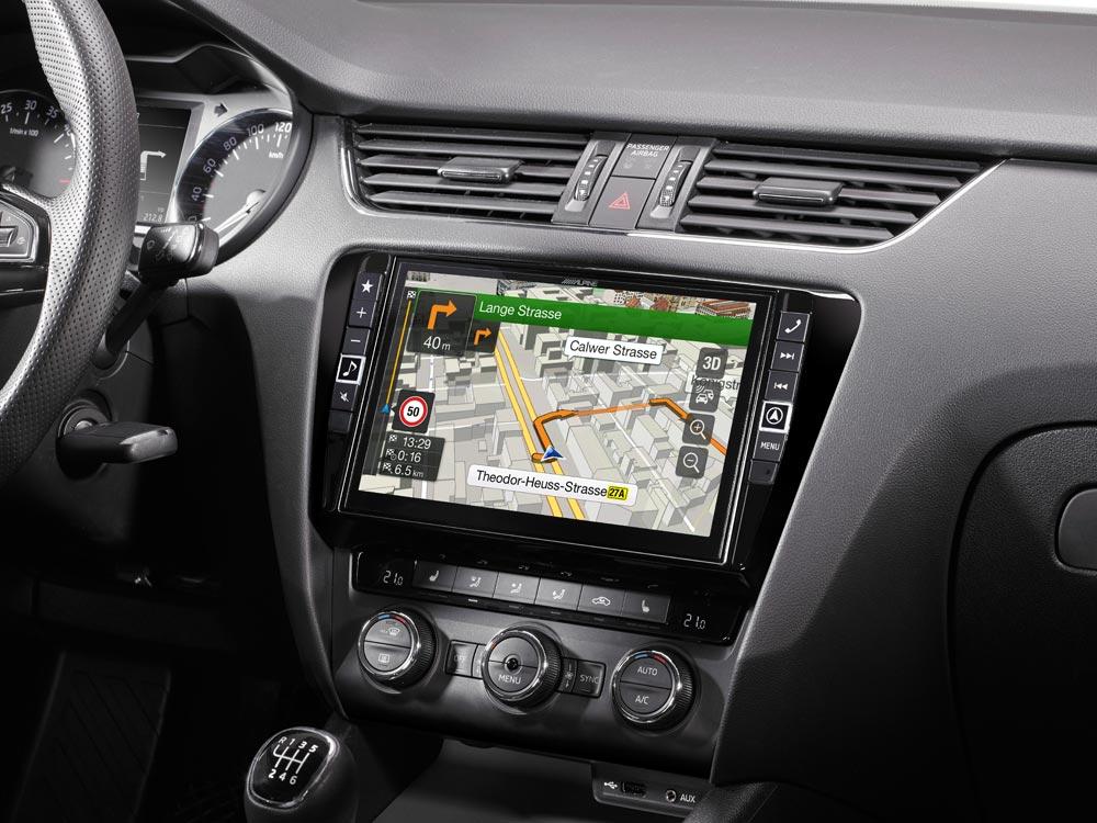 Navigation System for Skoda Octavia 3 - Alpine - X901D-OC3