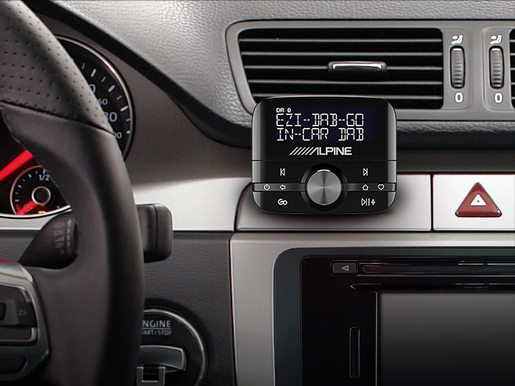 Digital Radio (DAB/DAB+) Interface - Alpine - EZi-DAB-GO
