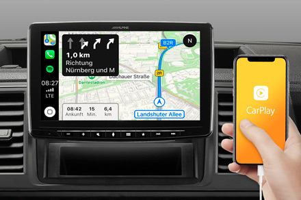 iLX-F903D - Online Navigation with Apple CarPlay