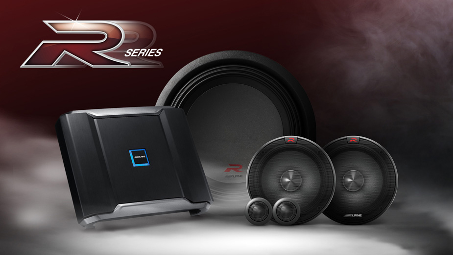 The Alpine R-Series Sound Components
