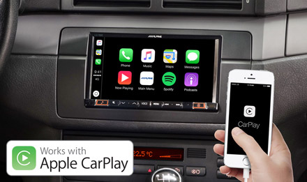 BMW 3 E46 - Works with Apple CarPlay - iLX-702E46