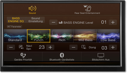 Bass Engine SQ Sound tuning - Navigation System X702D-F
