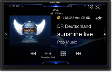 DAB+Digital Radio - Navigation System X903DC-F