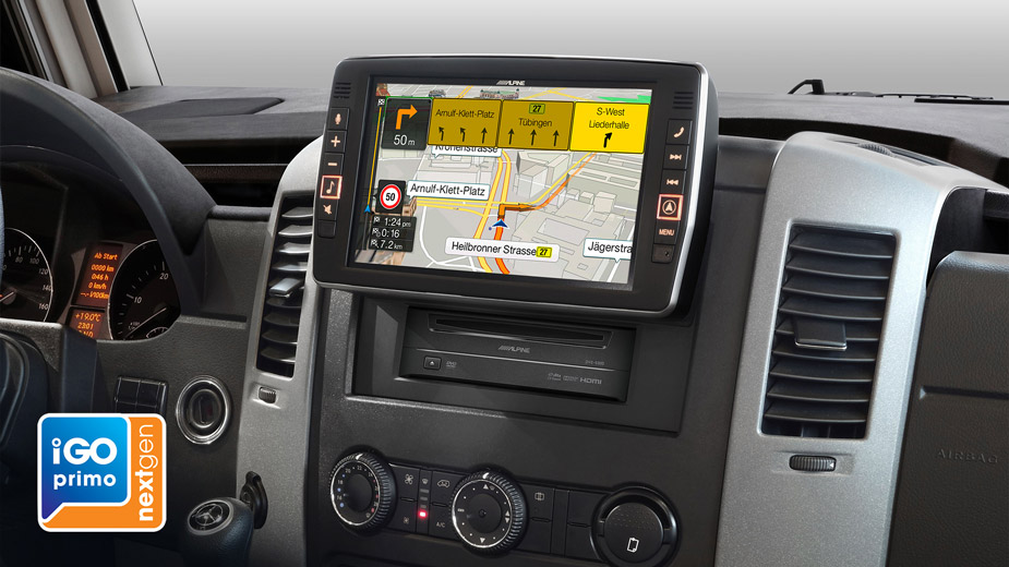 Alpine Style Navigation Designed for Mercedes Sprinter - X902D-S906