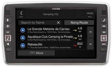 Mercedes Sprinter - Navigation - Importable camper POI databases - X902D-S906