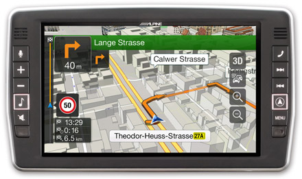"9"" Touch Screen Navigation for Mercedes Sprinter, compatible"