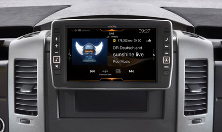 Mercedes Sprinter - DAB Digital Radio - X903D-S906