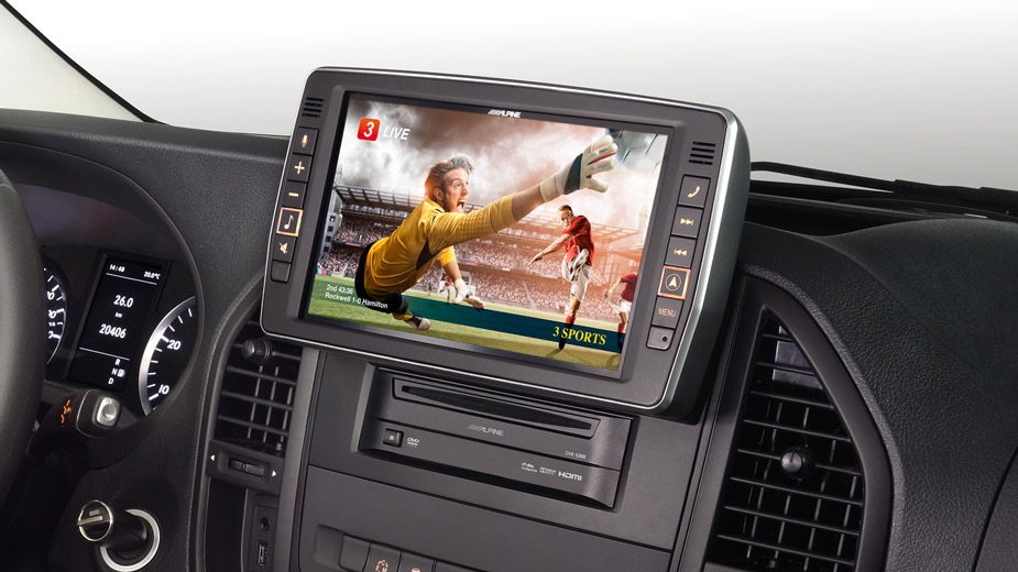 Mercedes Vito - Big Screen Entertainment - X902D-V447