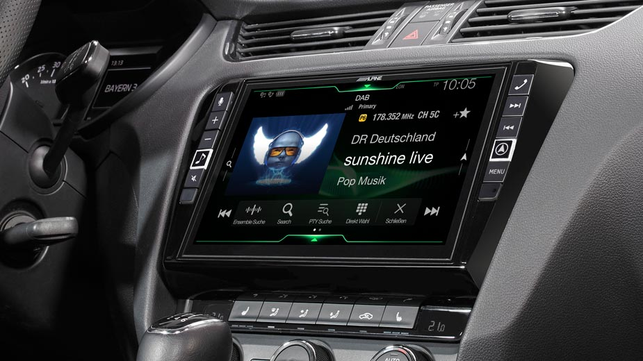 Alpine Style Navigation Designed for Skoda Octavia 3 - X902D-OC3
