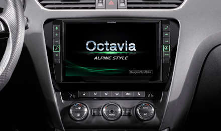 Skoda Octavia Start-up Screen  - X902D-OC3
