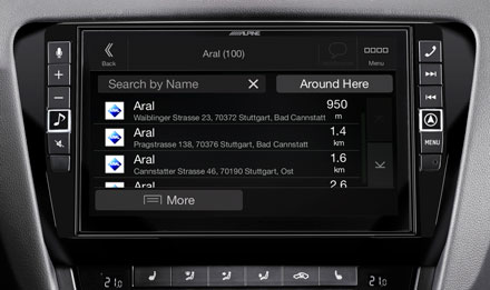 Skoda Octavia 3 - Navigation - Points of Interest  - X903D-OC3