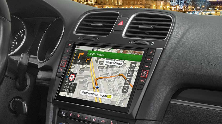 Alpine Style Navigation Designed for Volkswagen Golf 6 - X901D-G6