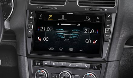 Golf 6 - Air Condition Display - X903D-G6