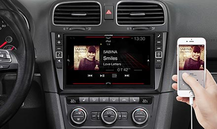Golf 6 - Connect Your Smartphone - X903D-G6