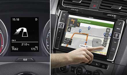 navigation system for volkswagen golf 7 alpine x901d g7. Black Bedroom Furniture Sets. Home Design Ideas