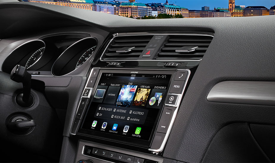 Alpine Style Mobile Media Designed for Volkswagen Golf 7 - i902D-G7